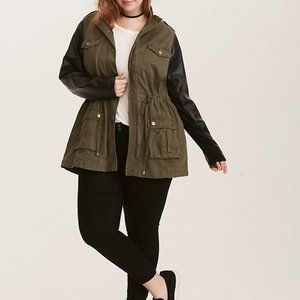 Black and Green Jacket from Torrid.